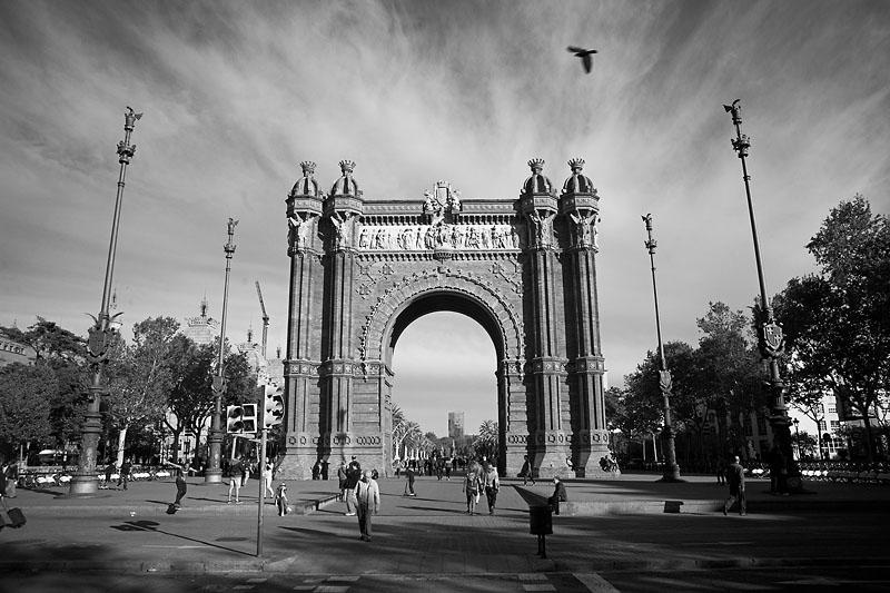 Барселона. Май  2012 года