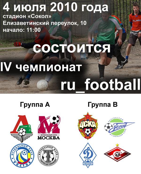 Чемпионат ru_football. Июнь 2010 года